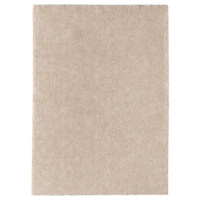 STOENSE Dywan z krótkim włosiem, kremowy, 170x240 cm