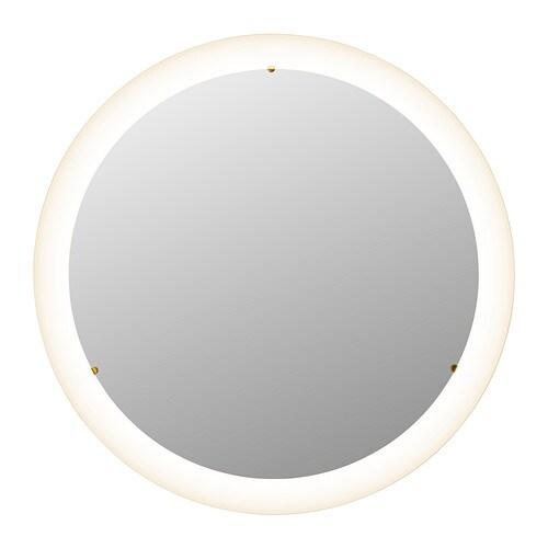 Storjorm Lustro Z Oświetleniem Ikea