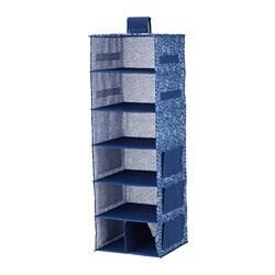 Zawieszane półki, 7 przegródek