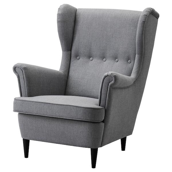 ikea fotel z podnózkiem