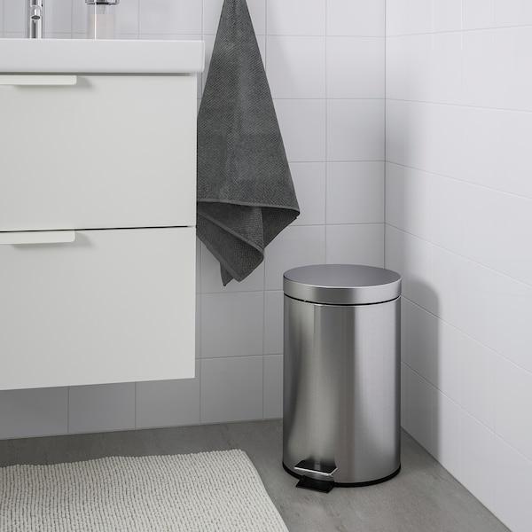 STRAPATS Kosz na odpady, stal nierdz, 12 l