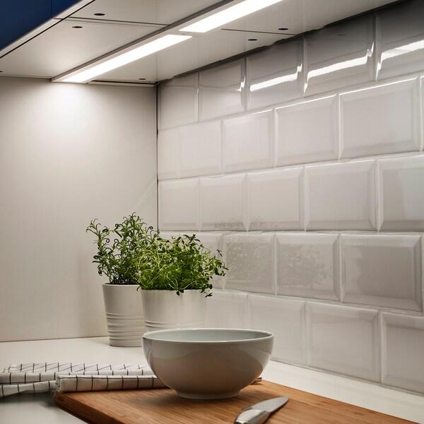 STRÖMLINJE Oświetlenie blatu LED, biały, 60 cm
