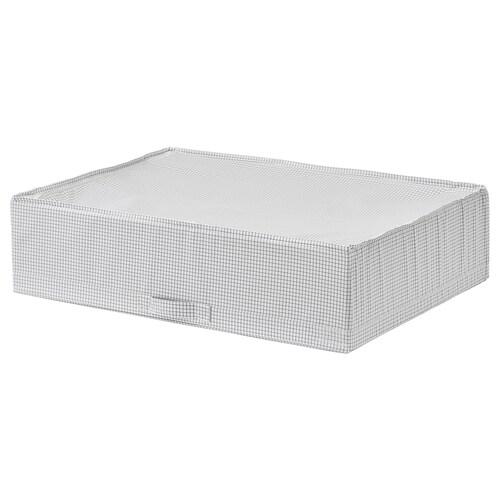 STUK pojemnik na ubrania/pościel biały/szary 71 cm 51 cm 18 cm