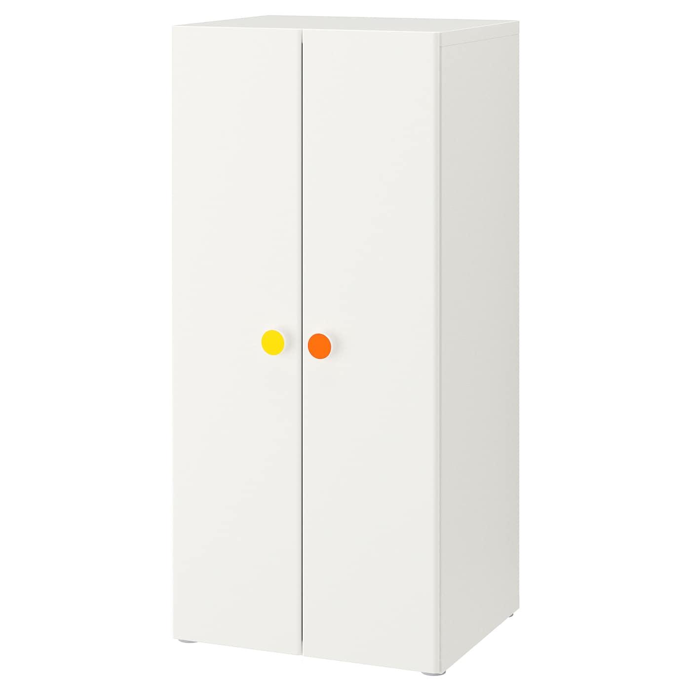 IKEA STUVA biała szafa z parą drzwi FÖLJA, 60x50x128 cm