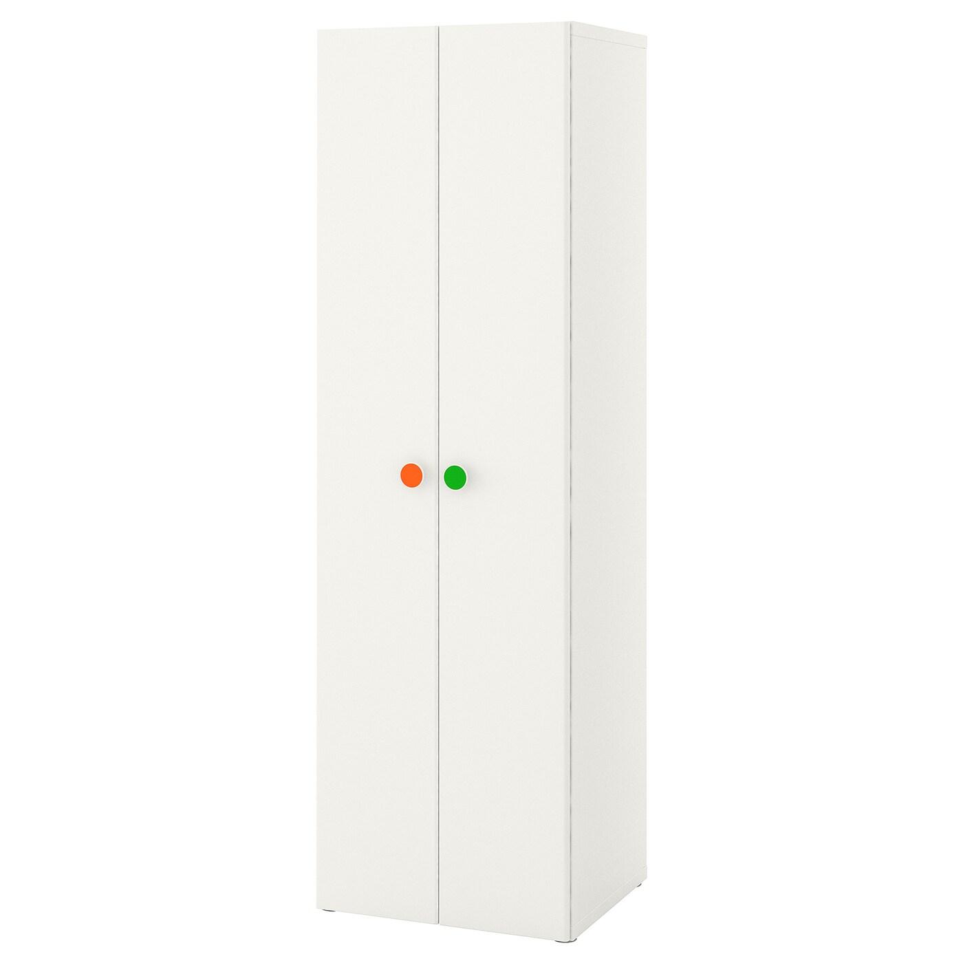 IKEA STUVA / FÖLJA Szafa, biały, 60x50x192 cm