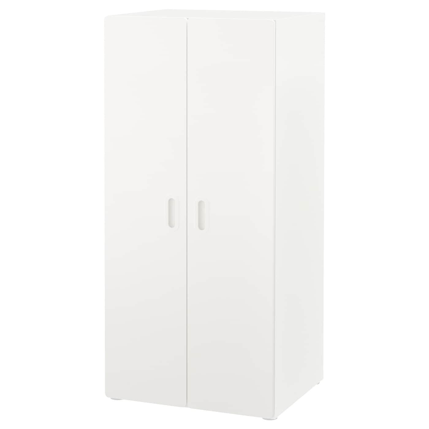 IKEA STUVA biała szafa z parą białych drzwi FRITIDS, 60x50x128cm