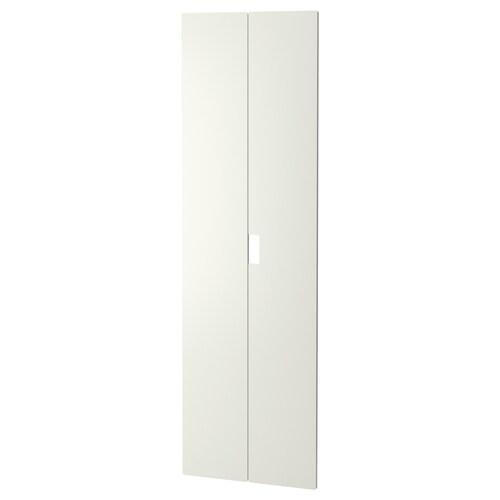 STUVA MÅLAD drzwi biały 60.0 cm 192 cm 2 szt.