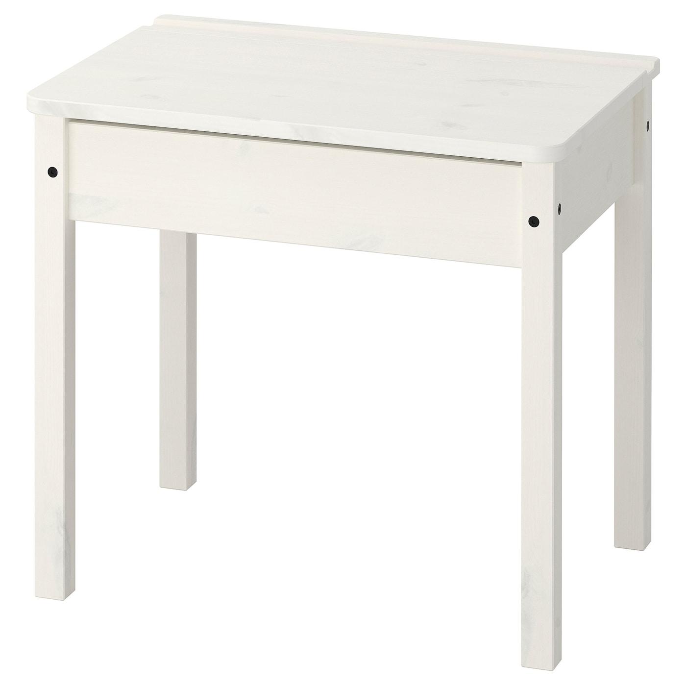 IKEA SUNDVIK białe biurko dla dziecka, 58x45 cm