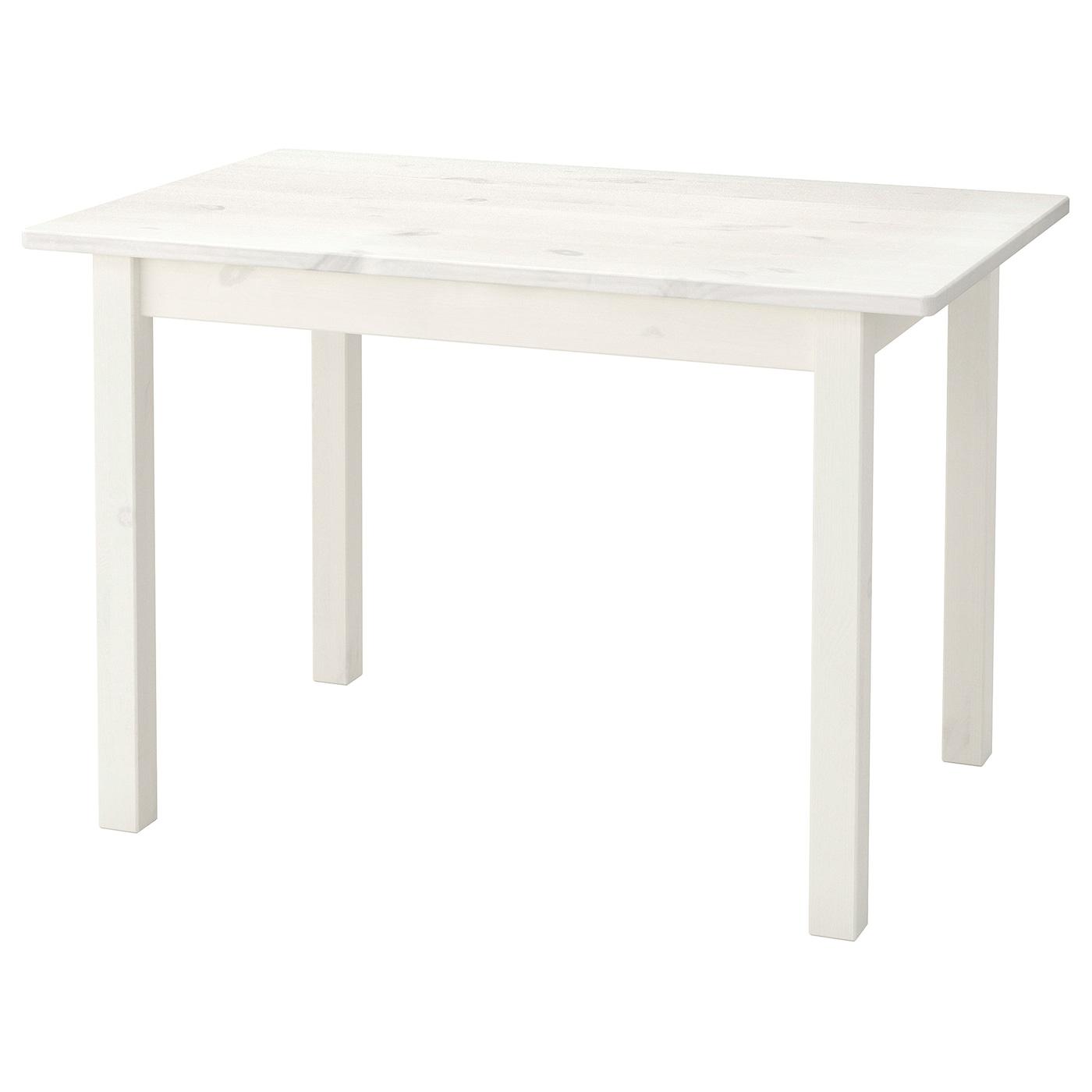 IKEA SUNDVIK biały stolik dziecięcy, 76x50 cm