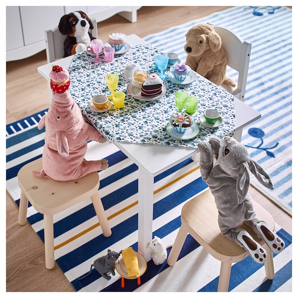 SUNDVIK Krzesełko dziecięce, biały