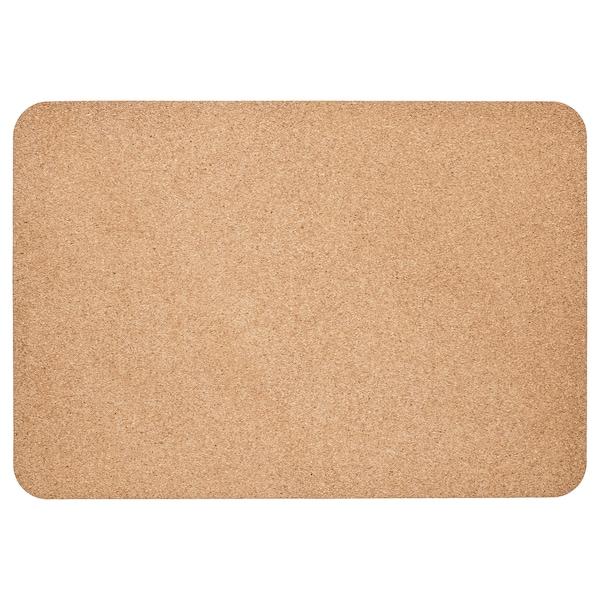 SUSIG Podkładka na biurko, korek, 45x65 cm