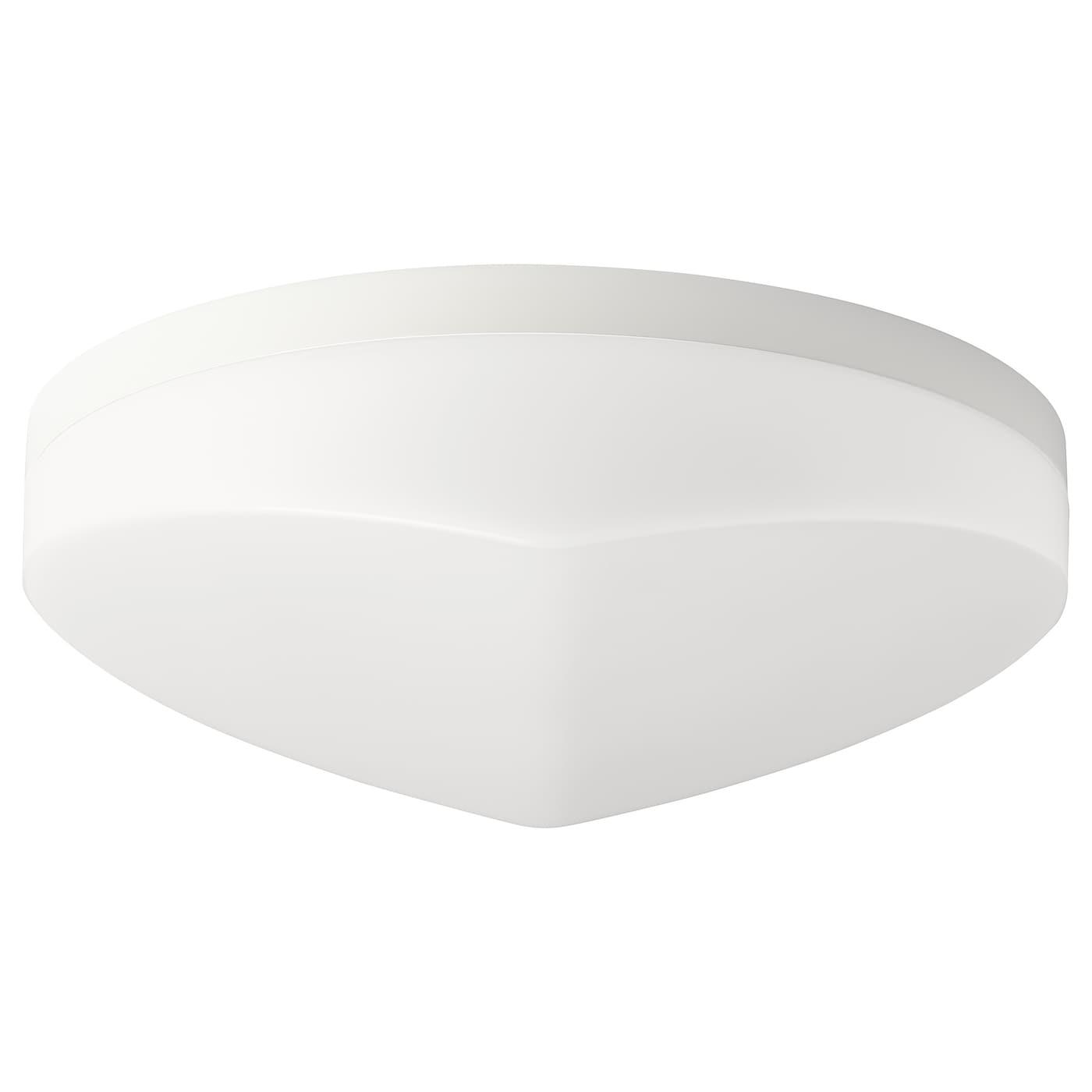IKEA SVALLIS Lampa sufitowa LED, biały można przyciemniać, biały, 27 cm