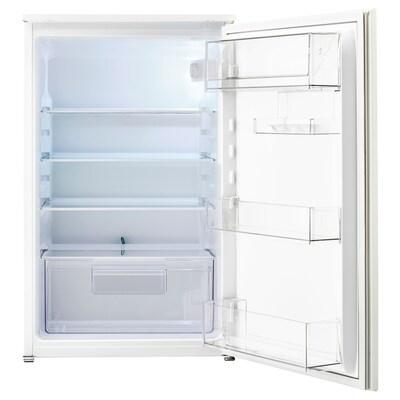 SVALNA Zintegrowana lodówka A+, biały, 142 l