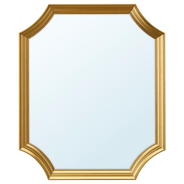 SVANSELE Lustro, złoty kolor, 53x63 cm
