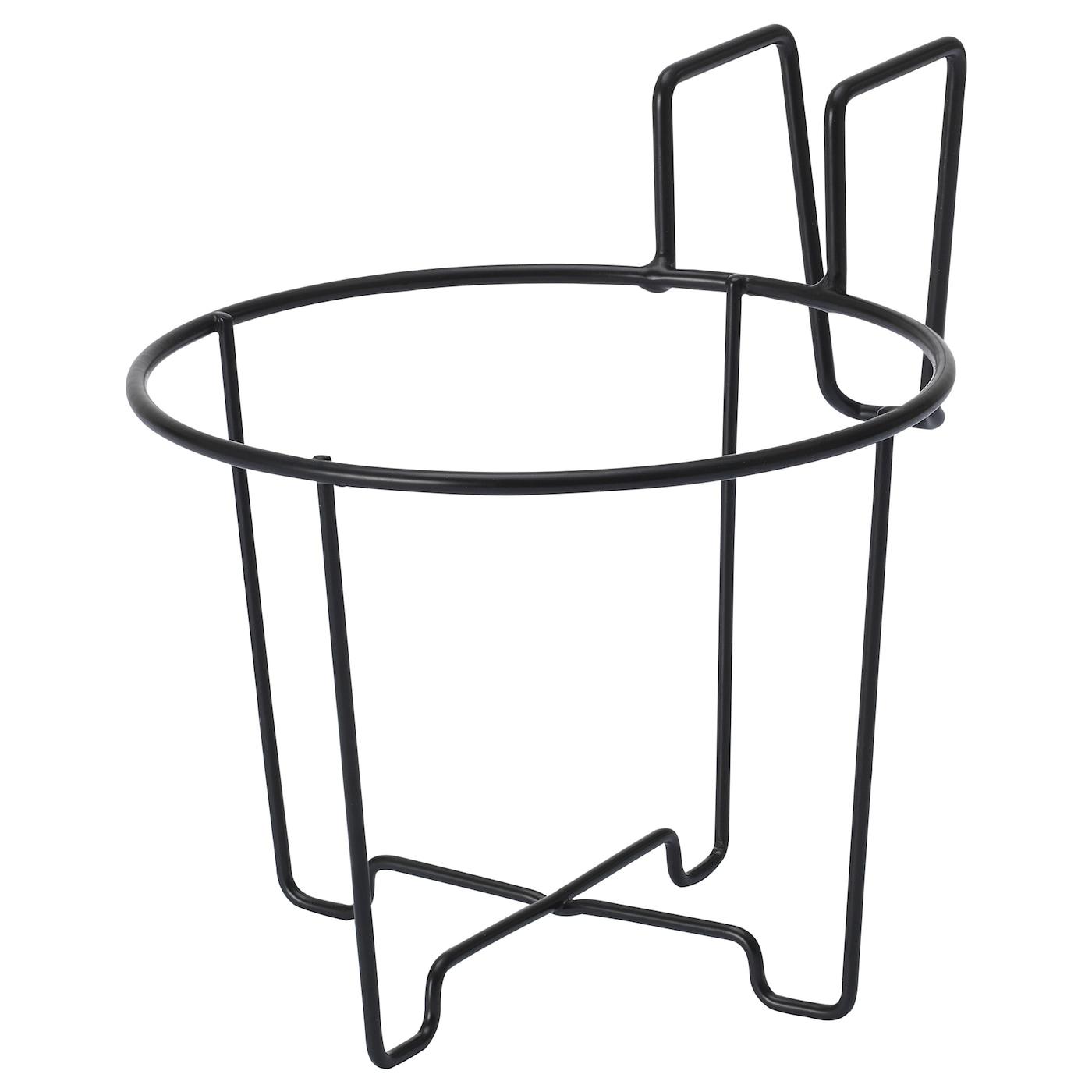 SVARTPEPPAR podu turētājs - iekšpusē / ārā melns 16 cm