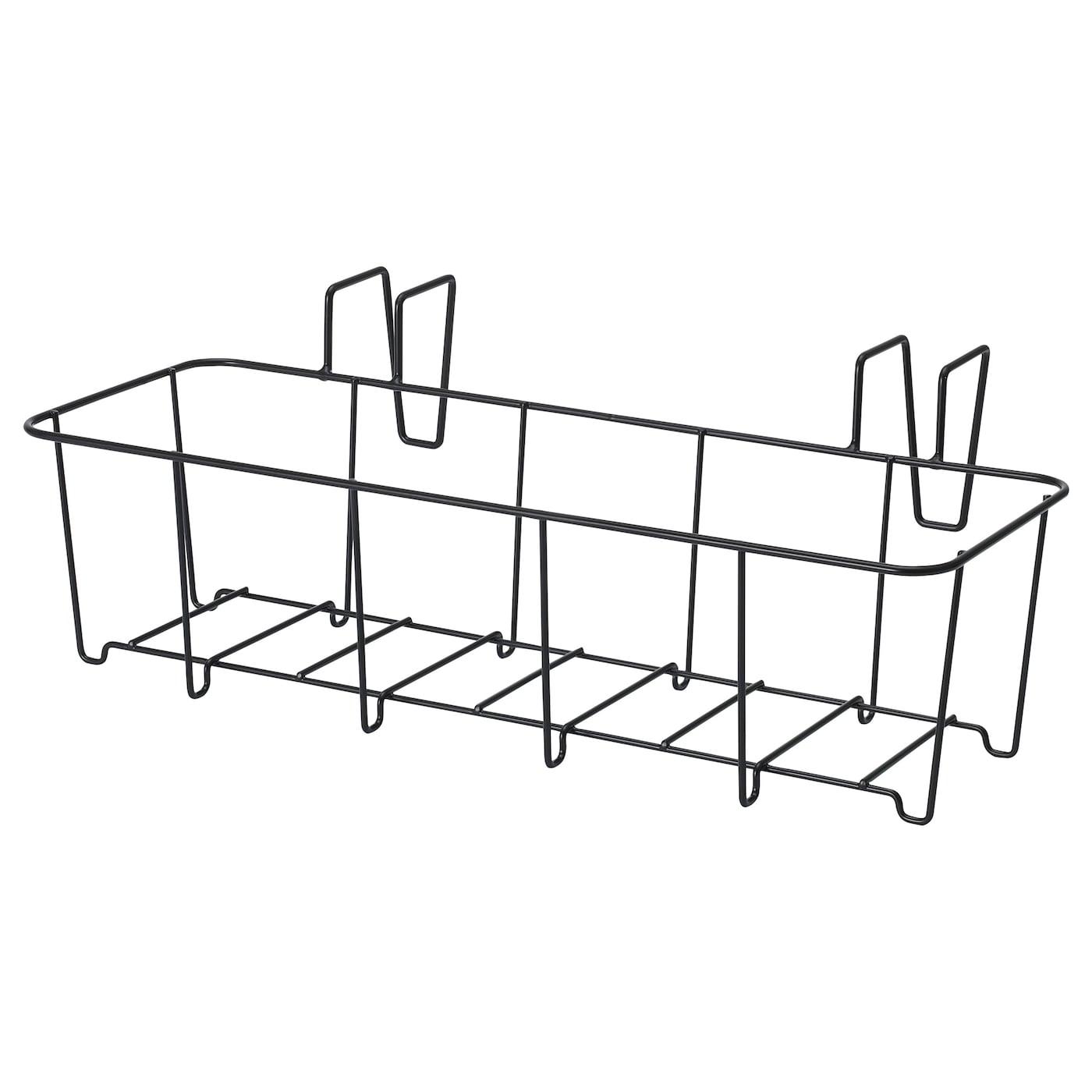 SVARTPEPPAR podu turētājs - iekšpusē / ārā melns 45x16 cm