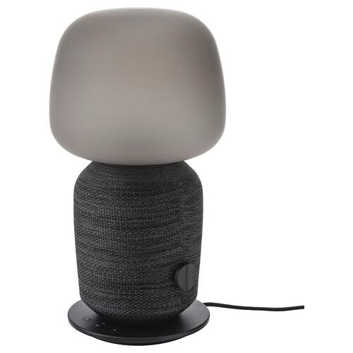 SYMFONISK lampa stołowa z głośnikiem wi-fi czarny 7 Wat 216 mm 216 mm 401 mm 150 cm