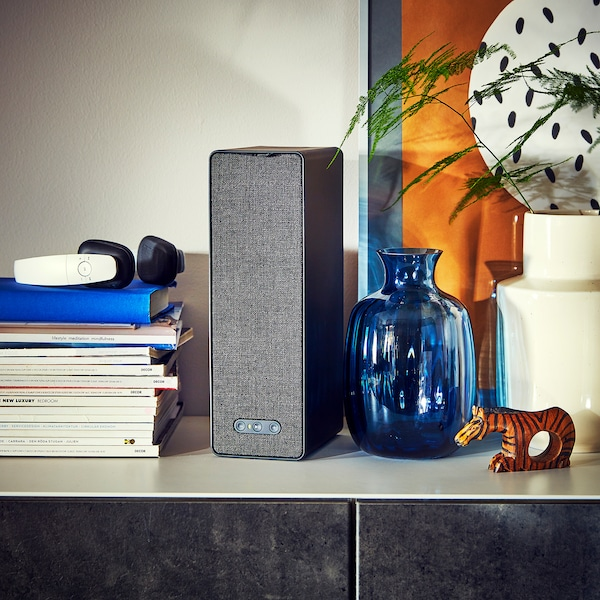 SYMFONISK WiFi głosnik czarny 10 cm 15 cm 31 cm 150 cm
