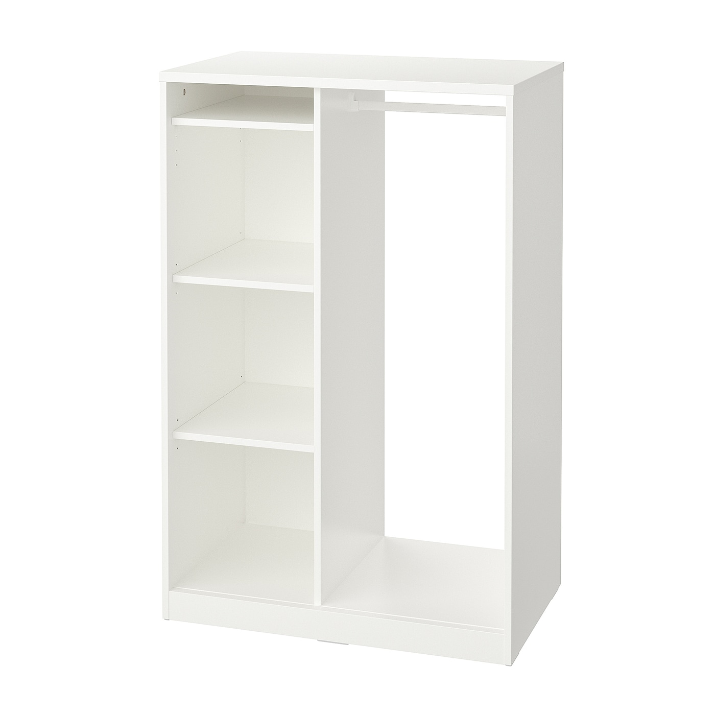 IKEA SYVDE Szafa otwarta, biały, 80x123 cm