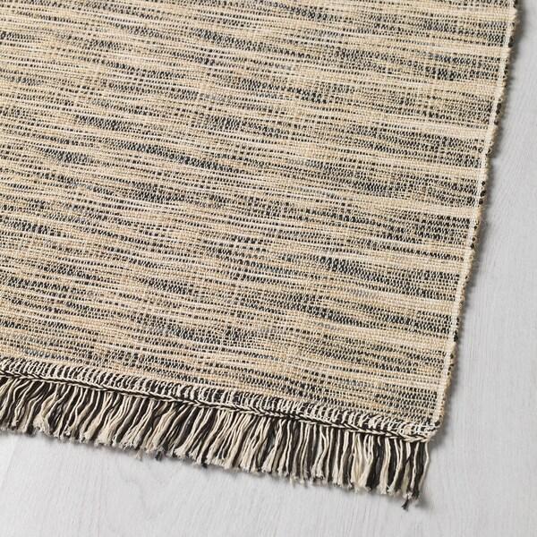 TAULOV Dywan tkany na płasko, beżowy, 60x90 cm