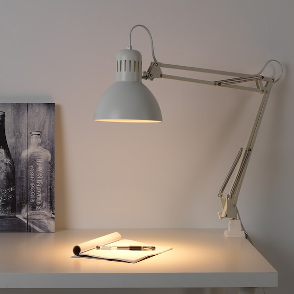 TERTIAL Lampa biurkowa, biały