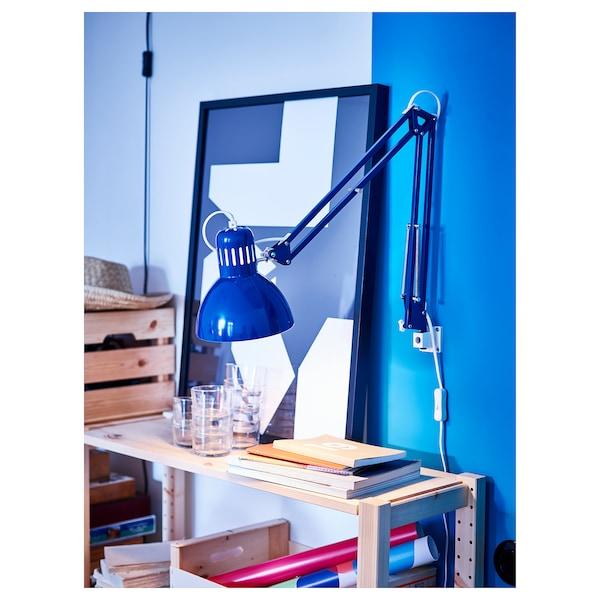 TERTIAL Lampa biurkowa, niebieski