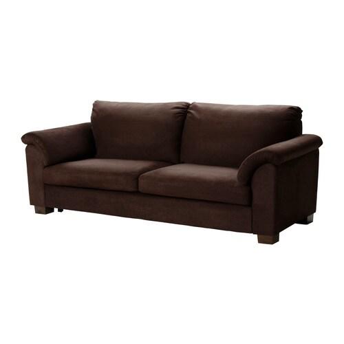 IKEA - ТИДАФОРС, Диван-кровать, Туллинге темно-коричневый , Легко...