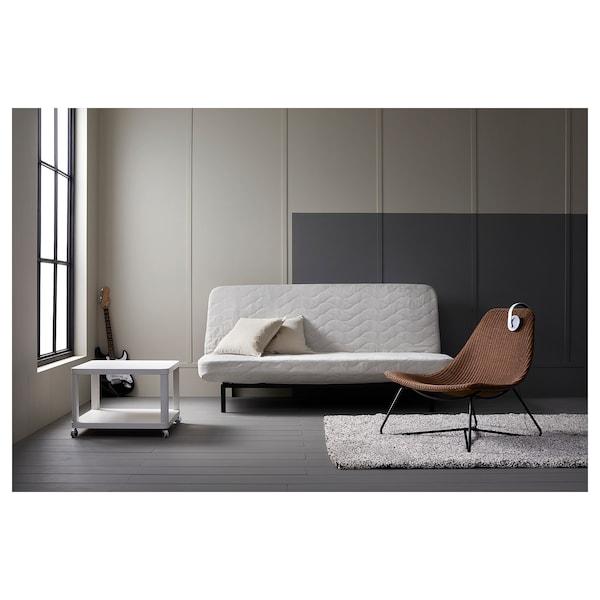 TINGBY Stolik na kółkach, biały, 64x64 cm