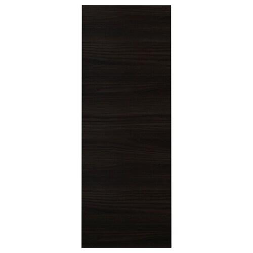 TINGSRYD panel maskujący imitacja drewna czarny 39.0 cm 106 cm 39 cm 106.0 cm 1.3 cm