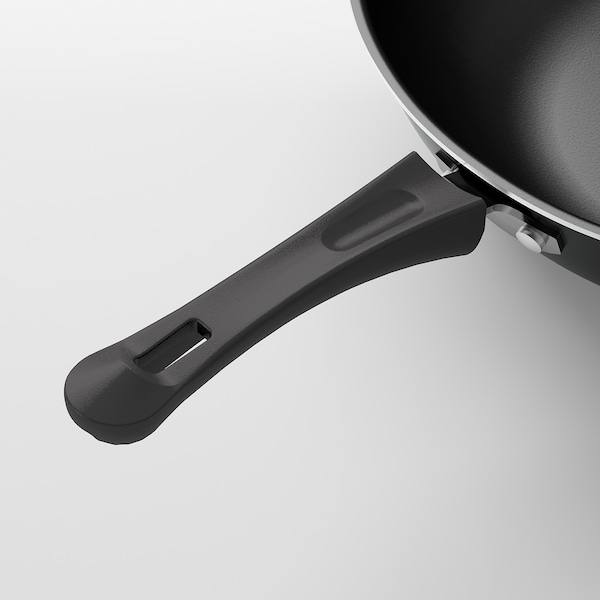 TOLERANT Wok, czarny, 33 cm