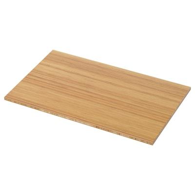 TOLKEN Blat łazienkowy, bambus, 82x49 cm