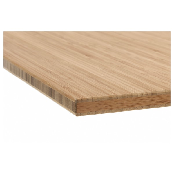 TOLKEN Blat łazienkowy, bambus, 62x49 cm