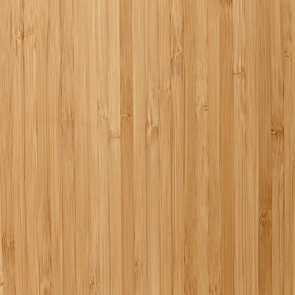 TOLKEN Blat łazienkowy, bambus, 122x49 cm