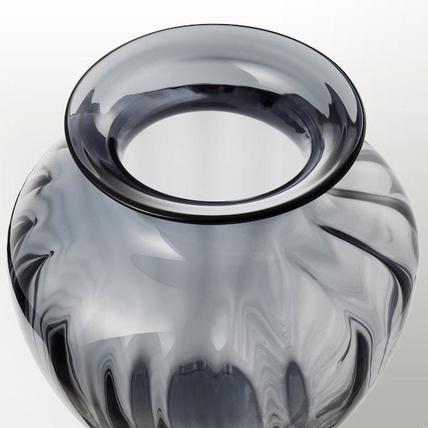 TONSÄTTA Wazon, szary, 27 cm