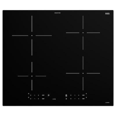 TREVLIG Płyta indukcyjna, IKEA 300 czarny, 59 cm