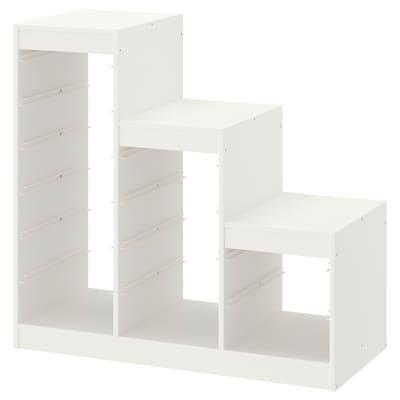 TROFAST Rama, biały, 99x44x94 cm
