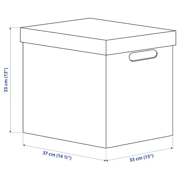 TRYCK Pudełko z pokrywką, 33x37x33 cm