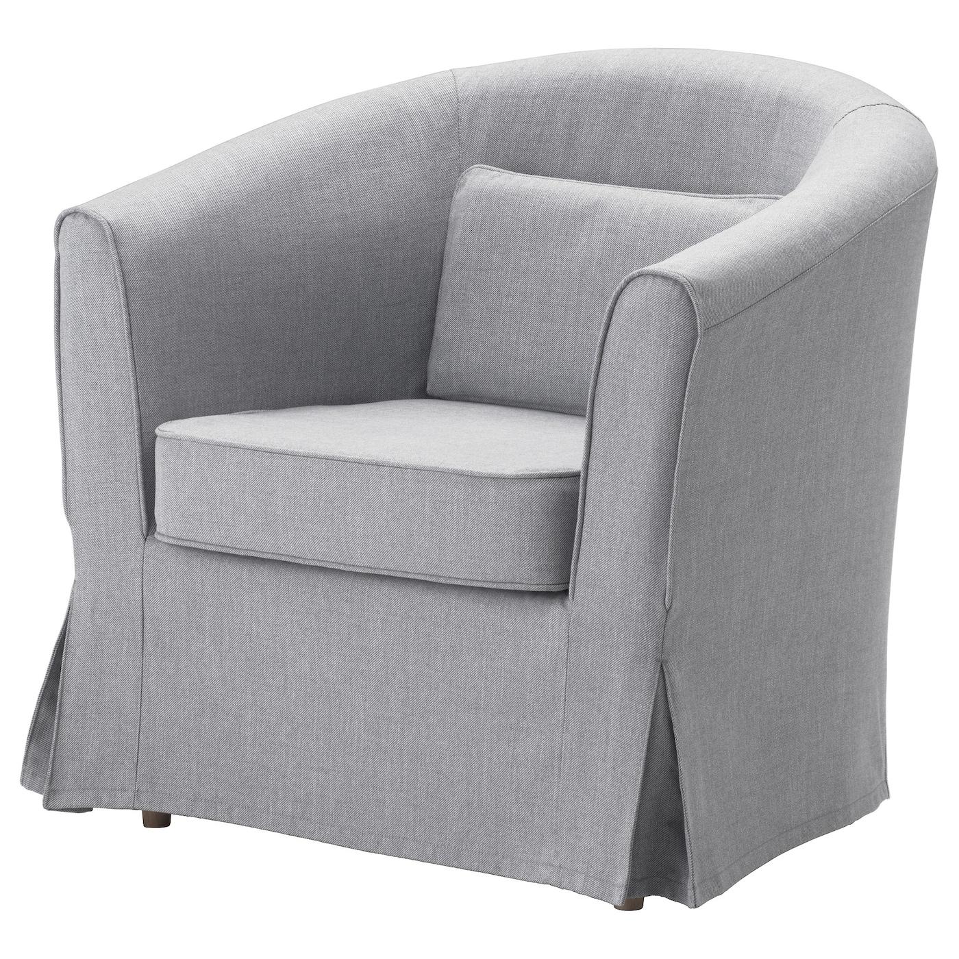 IKEA TULLSTA szary fotel