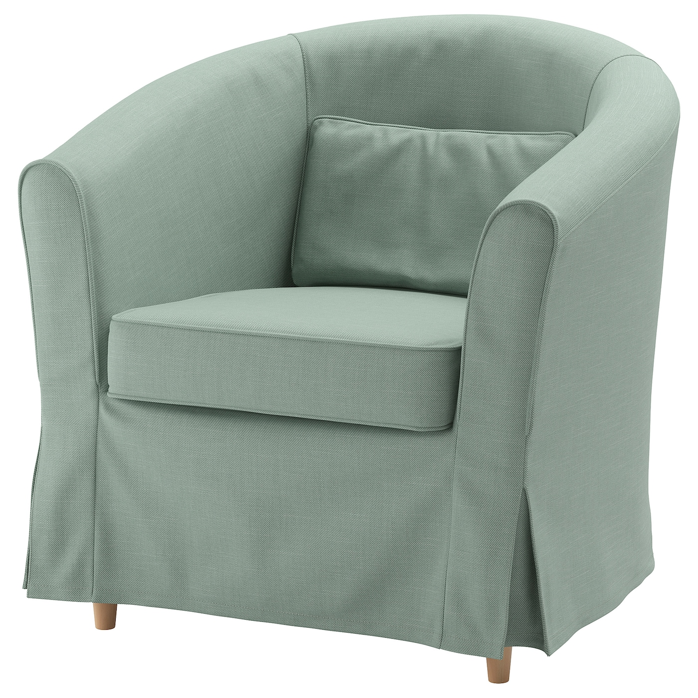 IKEA TULLSTA jasnozielony fotel