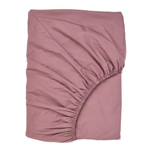 ULLVIDE palags, tumši rozā, 90x200 cm