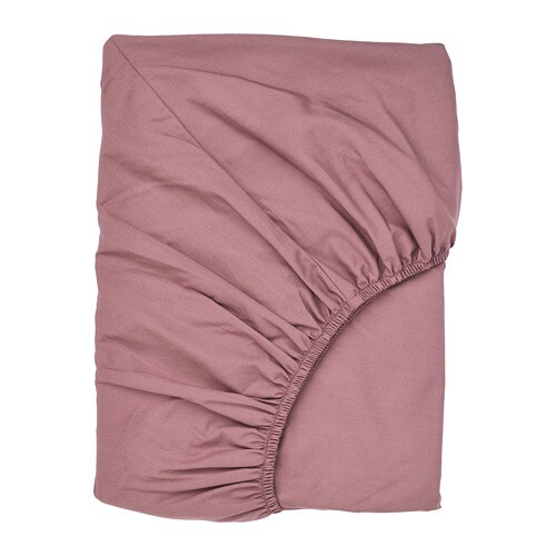 ULLVIDE palags, tumši rozā, 120x200 cm