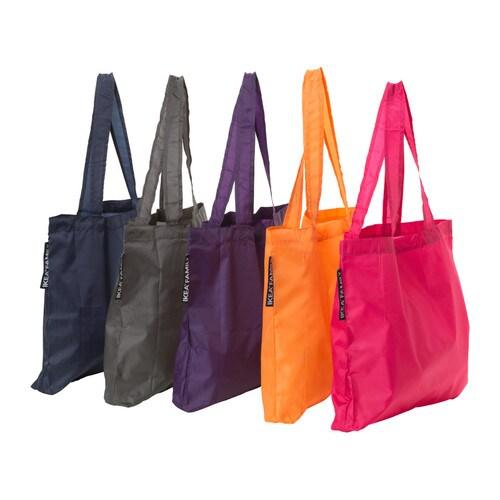 IKEA - УПТЭККА, Сумка, Эту сумку можно всегда брать с собой, ведь она очень легкая и в сложенном виде