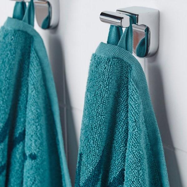 URSKOG Ręcznik kąpielowy, Lew/niebieski, 70x140 cm