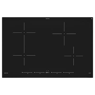 UTNÄMND Płyta indukcyjna, IKEA 500 czarny, 78 cm