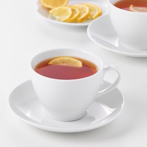 VÄRDERA Filiżanka do herbaty/spodek, 36 cl
