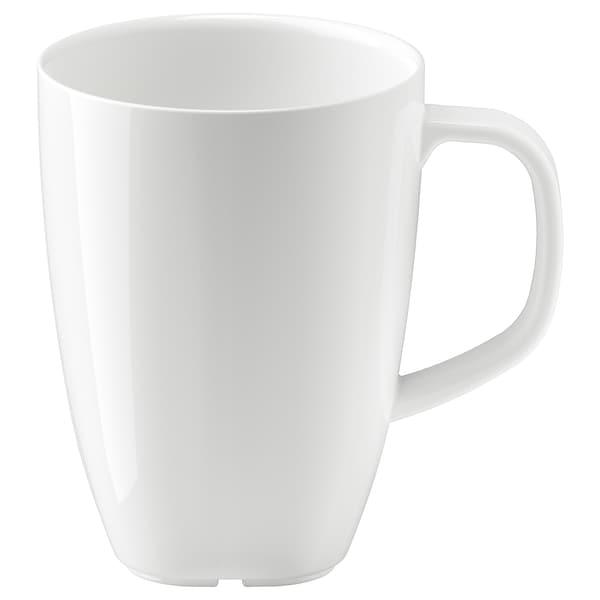 VÄRDERA Kubek, biały, 30 cl