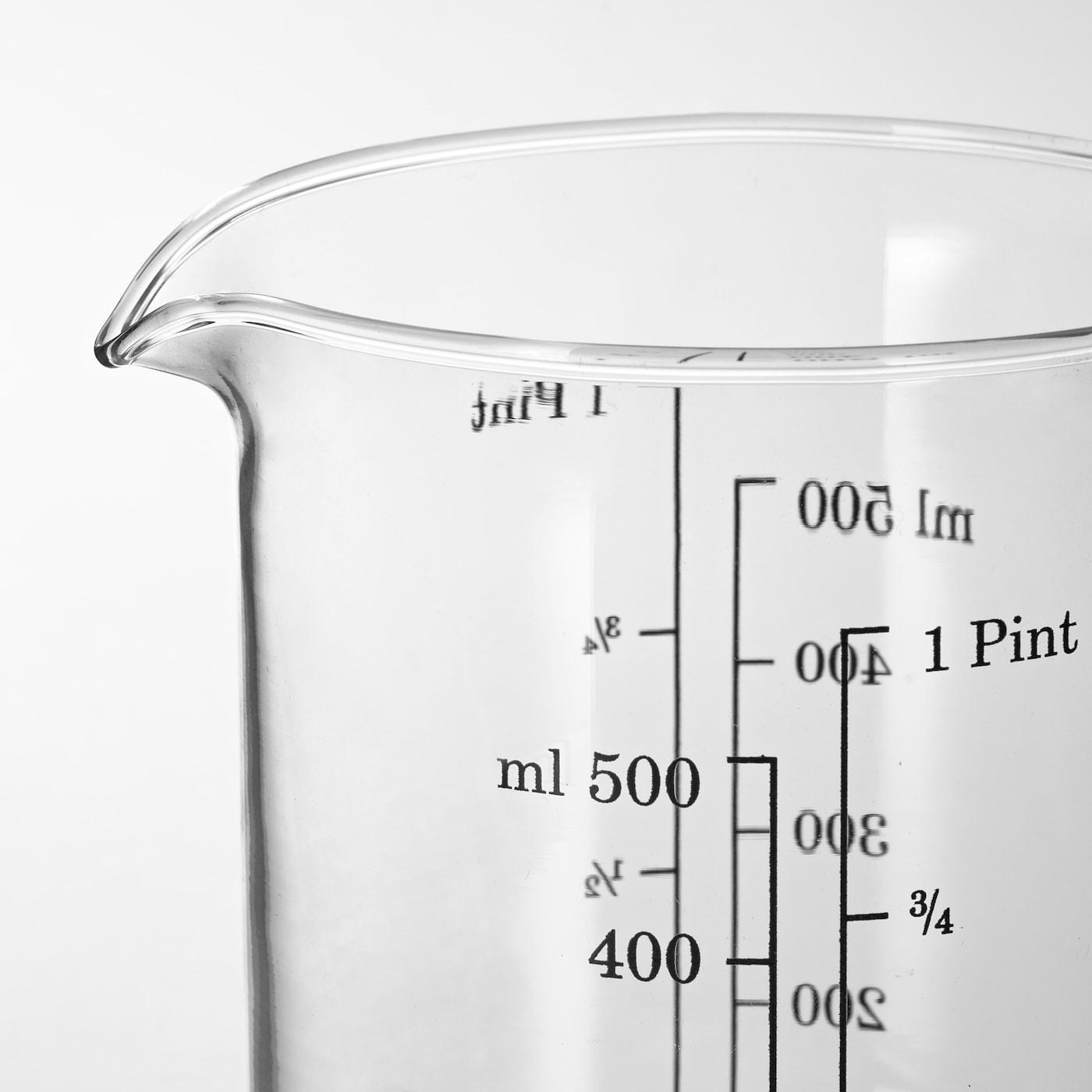 VARDAGEN Dzbanek z miarką - szkło 0.5 l