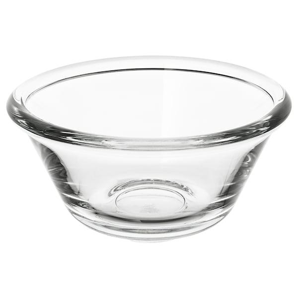 VARDAGEN Miska, szkło bezbarwne, 12 cm