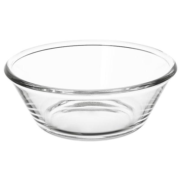 VARDAGEN Miska, szkło bezbarwne, 20 cm