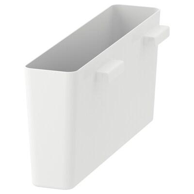 VARIERA Pojemnik, połysk/biały, 50x12 cm